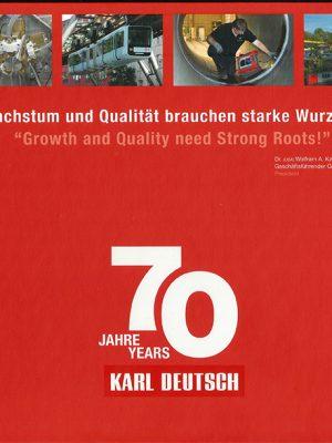 70 Jahre KARL DEUTSCH